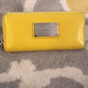 Fun yellow Marc by Marc Jacobs Wallet